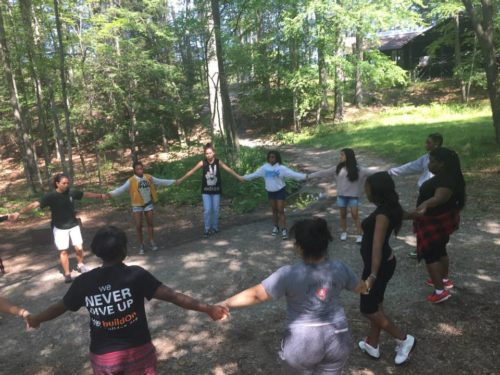 SOUL Sisters in a healing circle