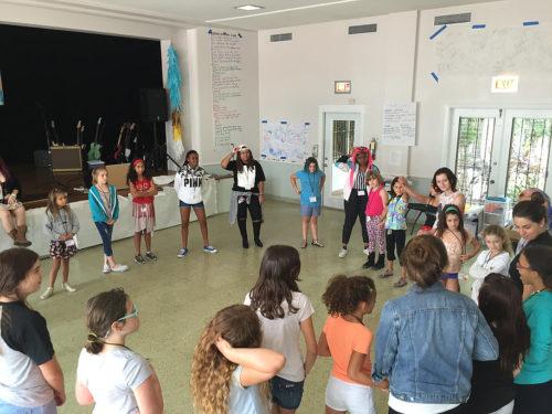 girls & femmes in a healing circle