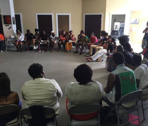 healing community circle