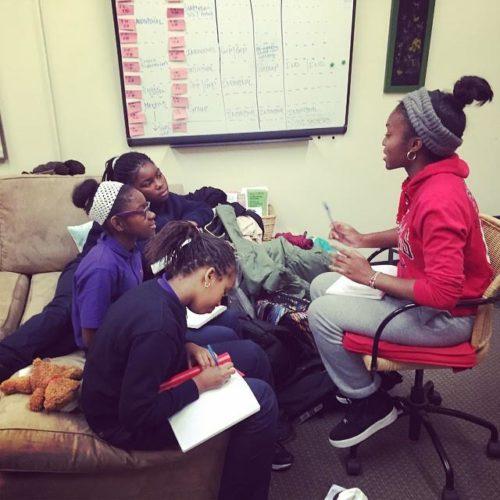 SOUL Sisters members talking