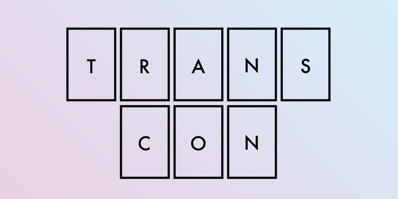 the logo for transcon